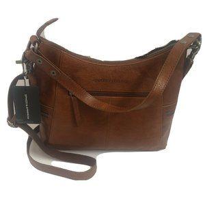 Spikes And Sparrow Handbag crossbody Genuine leath